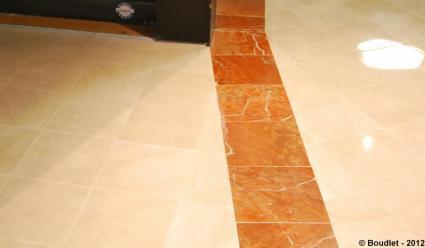 Rénovation marbre rouge alicante