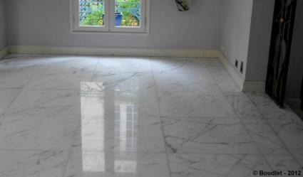 Rénovation marbre de carrare Paris 75