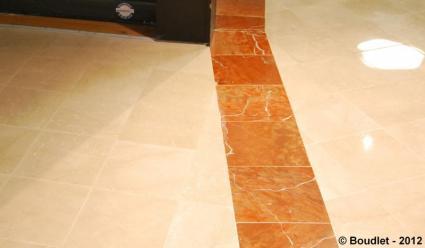 renovation sol en marbre