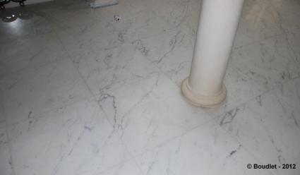 Enlever taches marbre