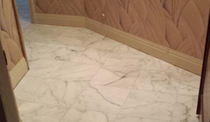 renovation marbre apres sinistre avant apres