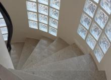 escalier marbre Paris