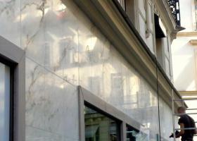 rénovation façade marbre Paris